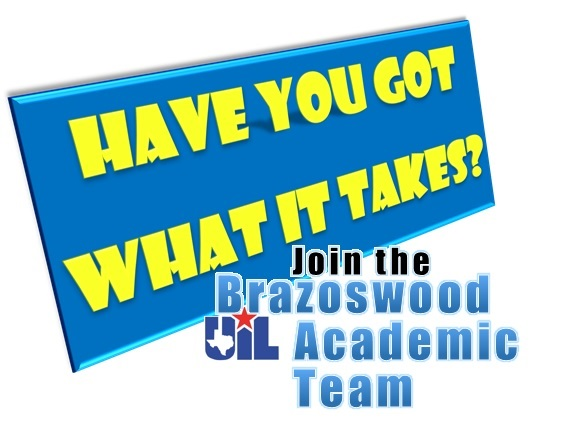 This is the image for the news article titled Brazoswood UIL Academic Team-Information