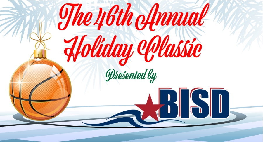 This is the image for the news article titled 46th Annual Holiday Classic Basketball Tournament, December 27-29 #46BISDHCT